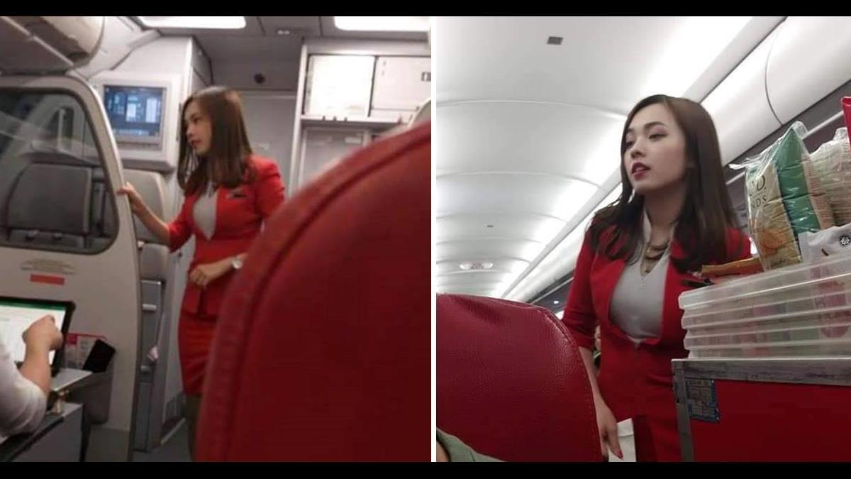 「亞洲最美空姐」2張照引暴動!網友神到本尊心動了
