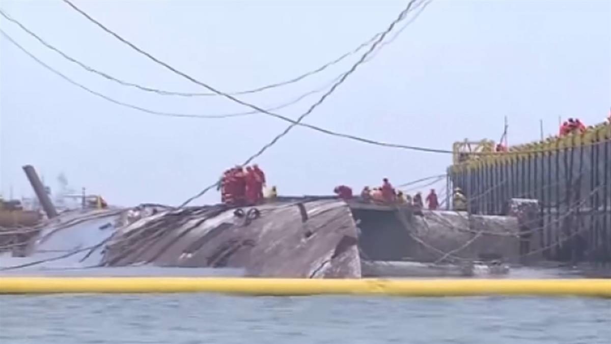 最後5罹難者再也回不來!南韓最大船難 宣布結束搜索