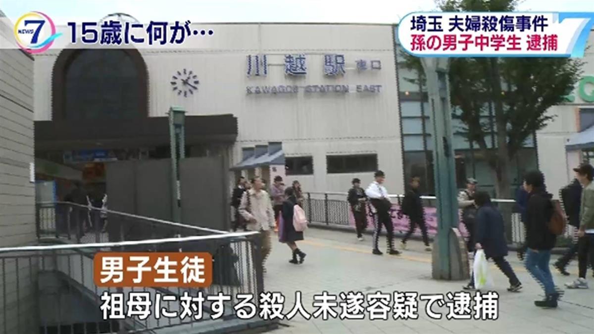埼玉逆倫血案 15歲少年砍外公外婆1死1傷