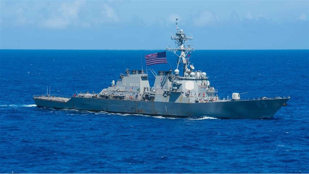 對台支持?美國擬再派艦通過台海 傳至少2艘