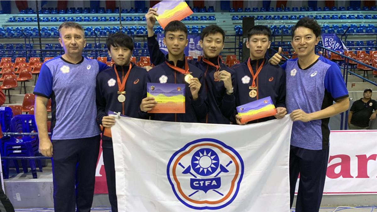 亞洲U23擊劍錦標賽 中華隊再摘雙銅