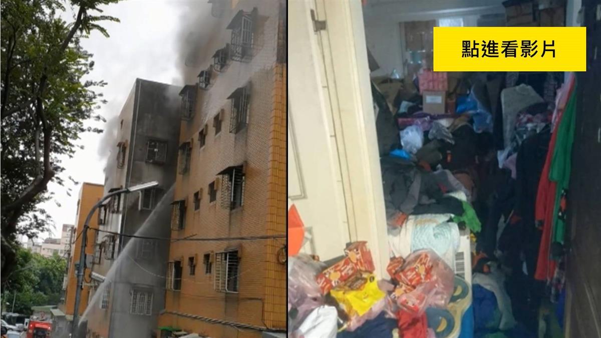 公寓惡火疑堆雜物阻逃生 技術員躲廁所燒死