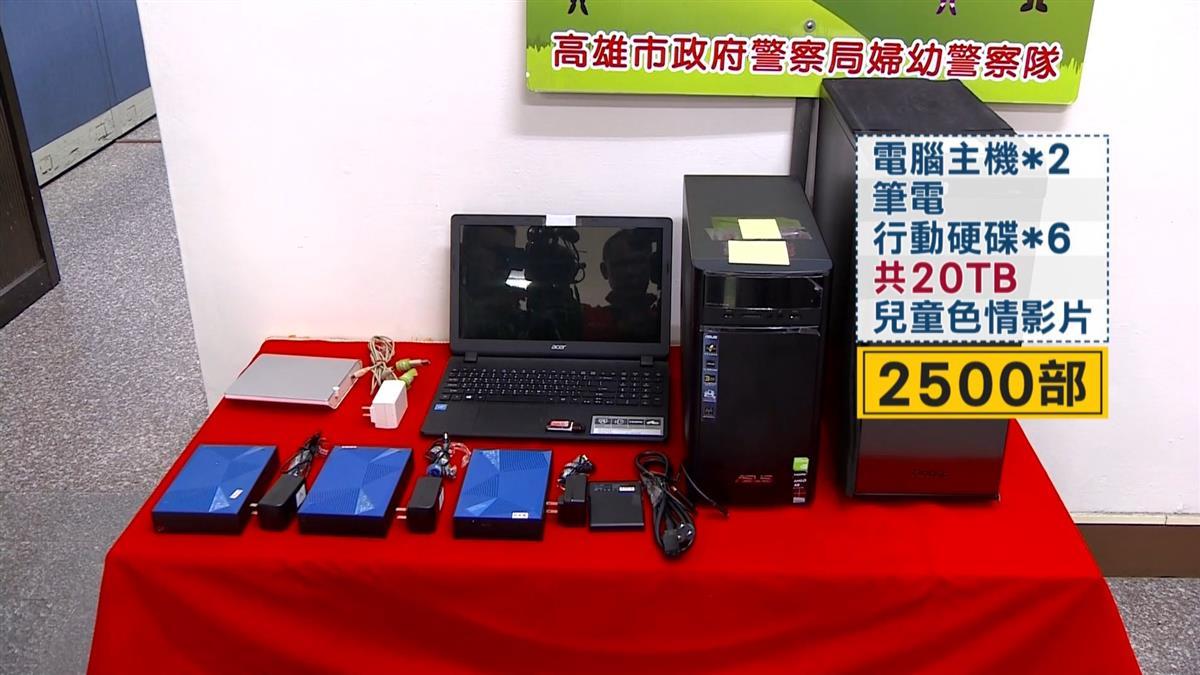 FBI查出台灣之恥!2台男散布近2000部「戀童片」