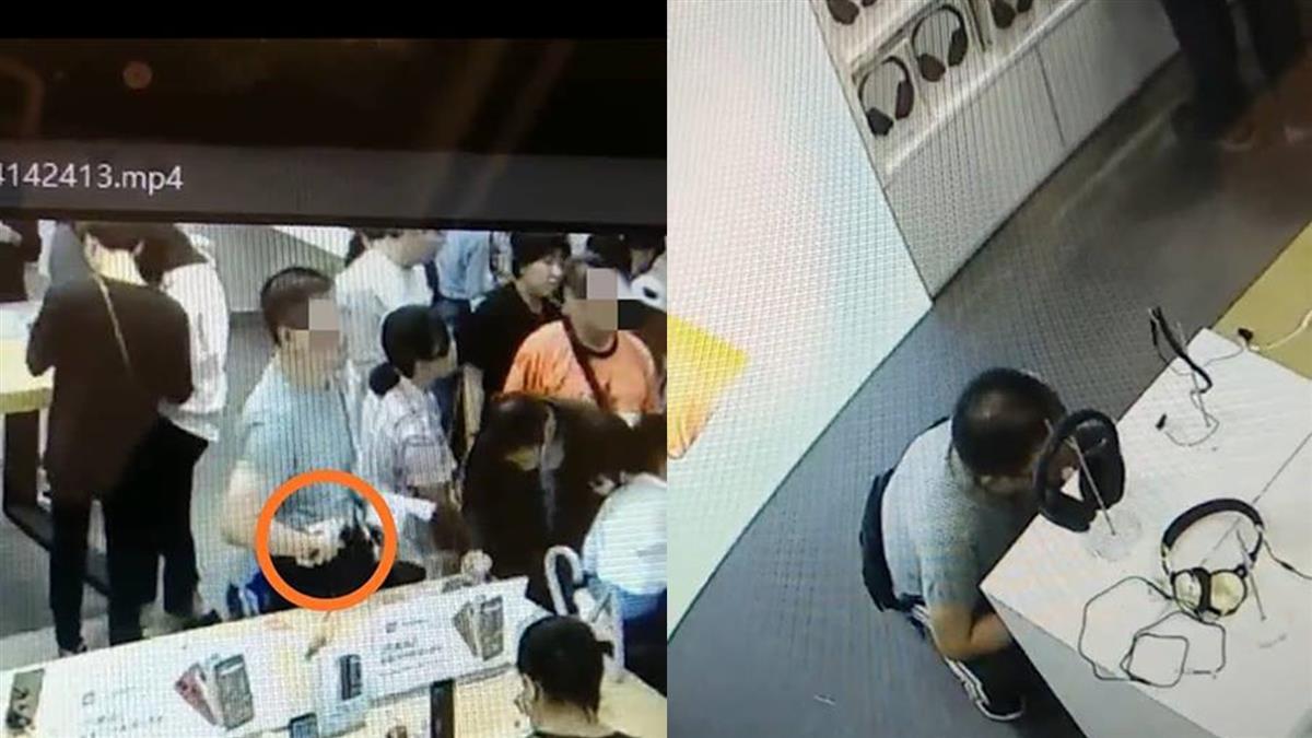 小米之家遭竊24件商品 警逮男慣竊