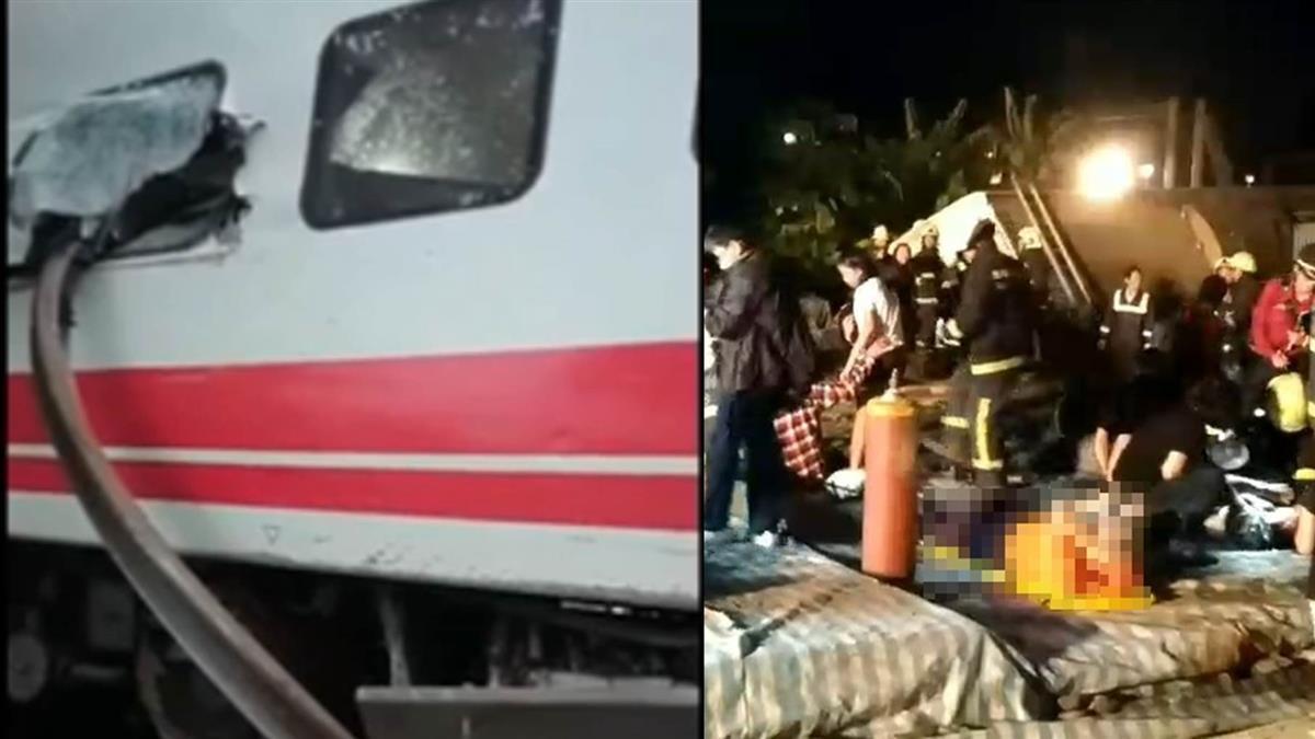 超驚悚! 普悠瑪車廂遭鐵軌刺穿 旅客畫面曝光