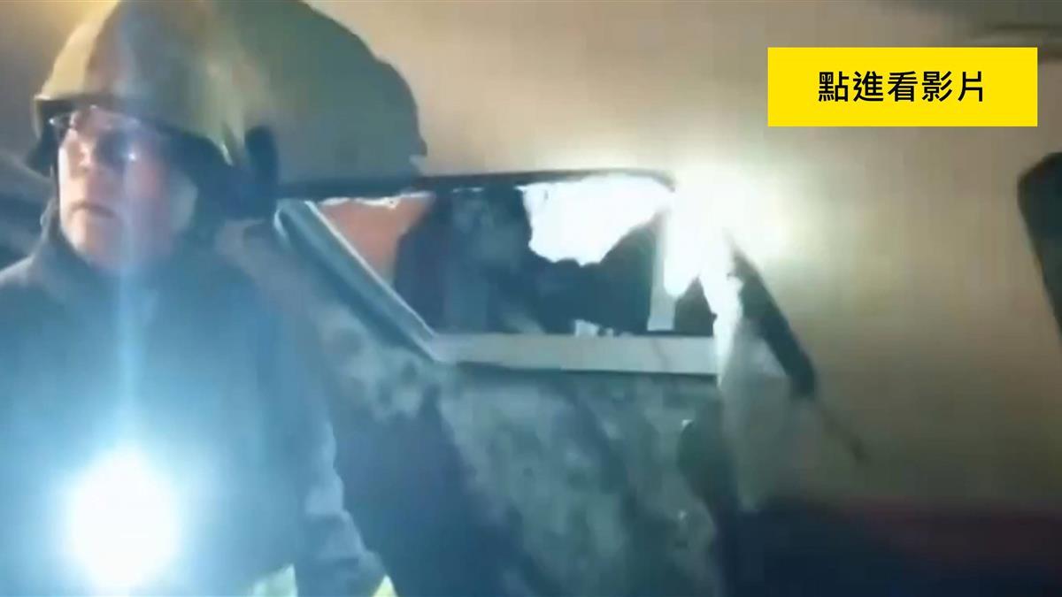 普悠瑪翻覆車上310人 乘客「敲破車窗」自救