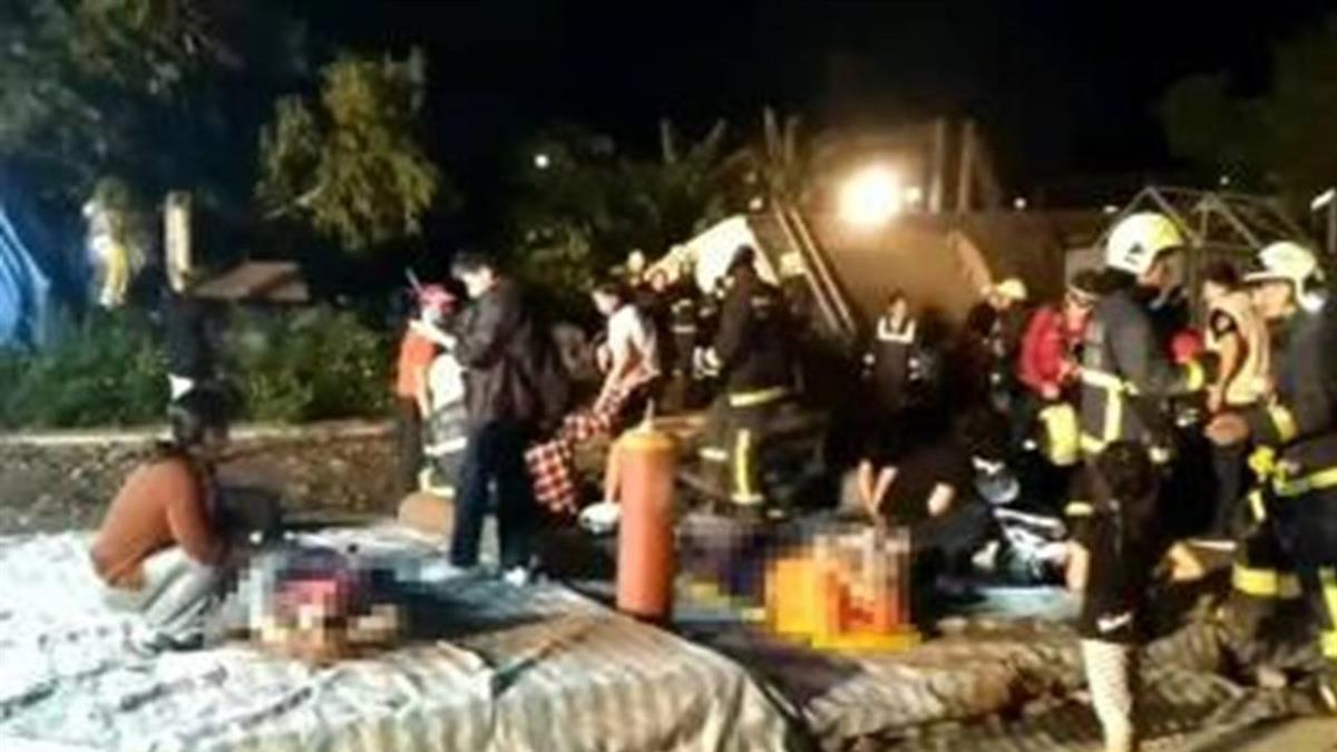 普悠瑪列車事故 傷者:人從坐椅飛起前衝
