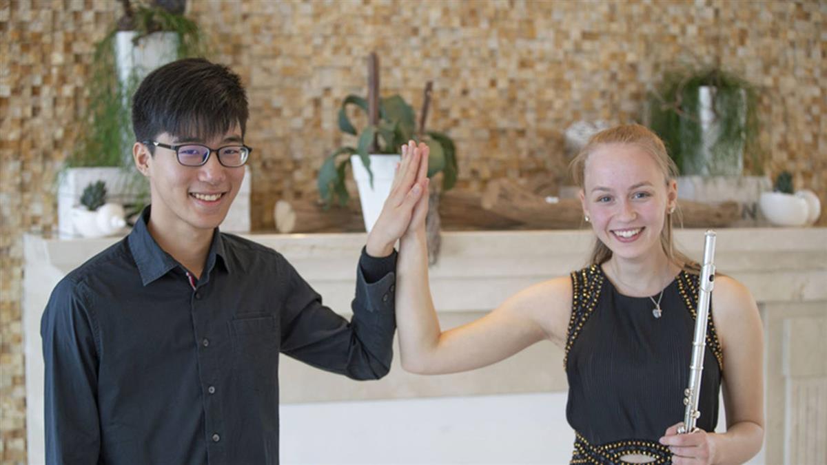 青年鋼琴家陳冠偉德國獲獎 前途看好