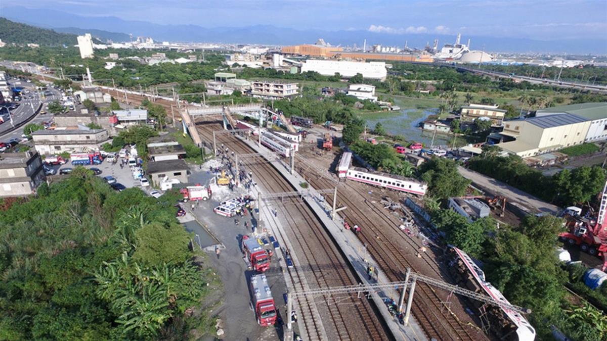 普悠瑪列車事故 台鐵搶修加強路線檢測