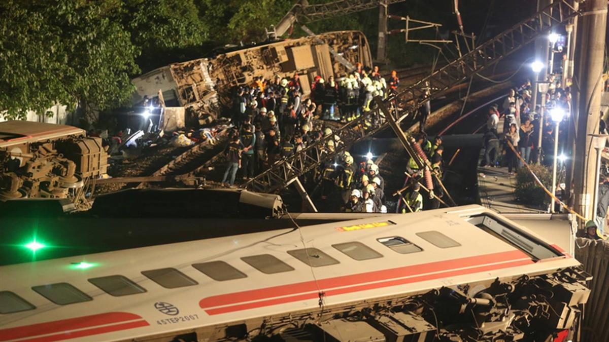 普悠瑪列車事故  司機員意識清楚可以說話