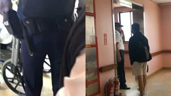 普悠瑪駕駛拒蔡英文探視...坐輪椅被帶往地檢署