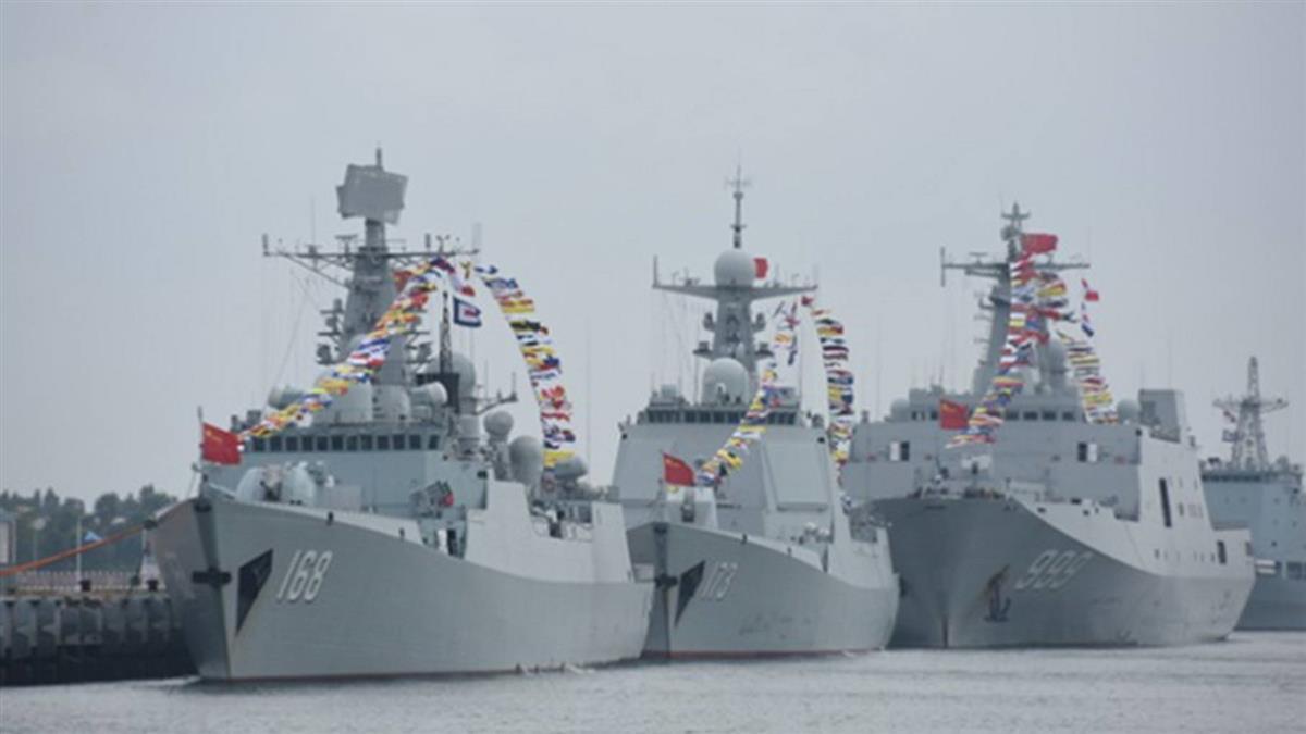 中國大陸東協首度舉行海上聯合軍演