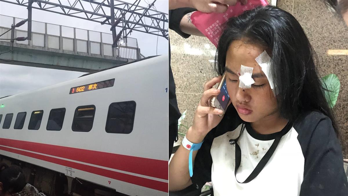 普悠瑪翻車!倖存女學生忍痛救3人 撿手機急打119
