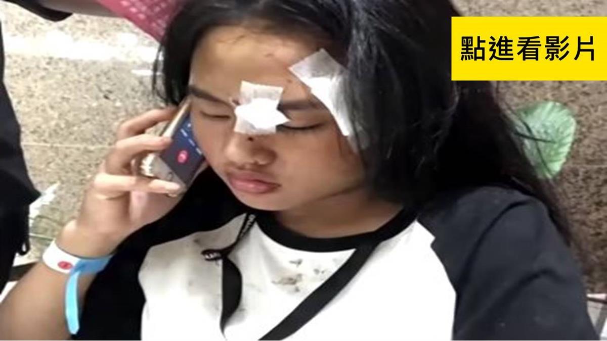 臨危不亂! 國一陽宴筠撿手機 報警助救3同學