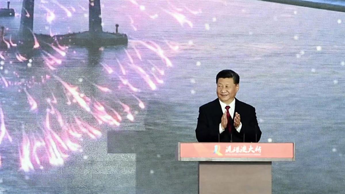 未發表重要講話 習近平出席港珠澳大橋開通儀式