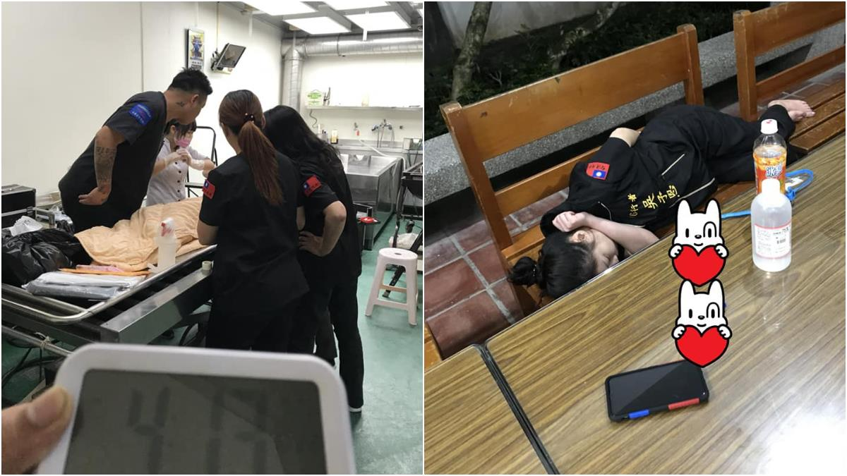 盡全力修復!37位修復師2天2夜沒睡 她累癱躺椅惹淚崩