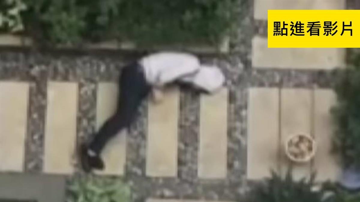 警察來了!詐欺犯畏罪 裹棉被爬牆逃墜樓