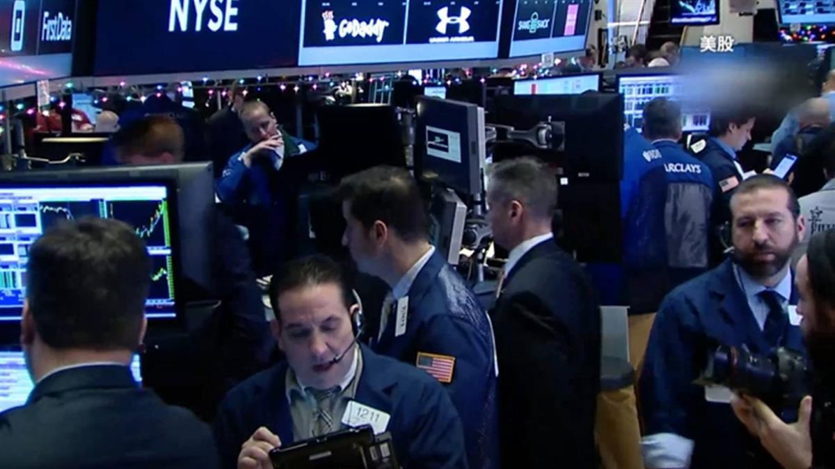 美股重挫 台股開盤跌136.45點