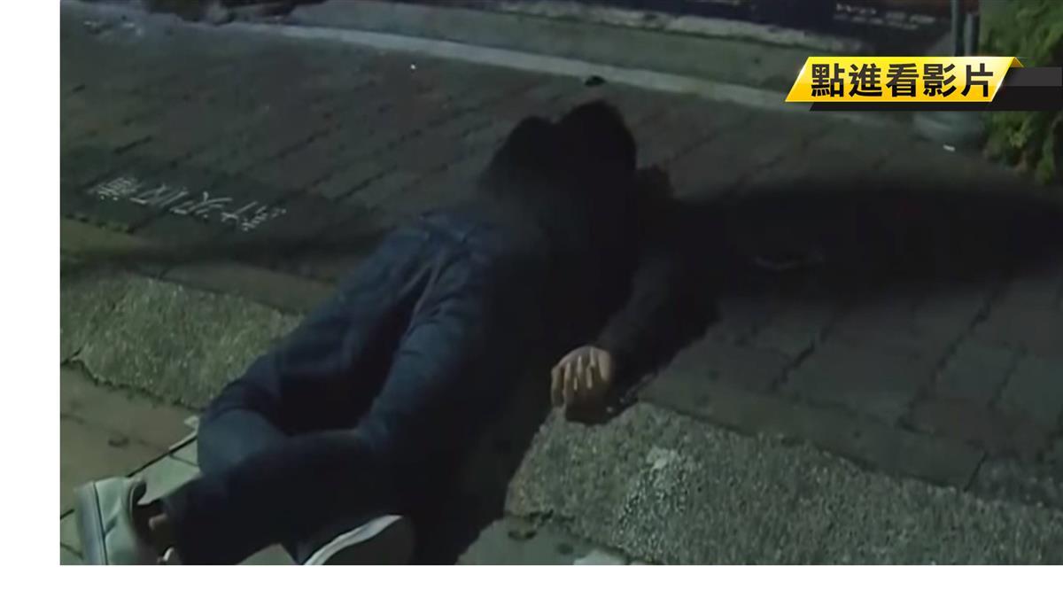 「醉」佳損友!2男酒駕雙載自撞行人道 慘摔零件噴飛