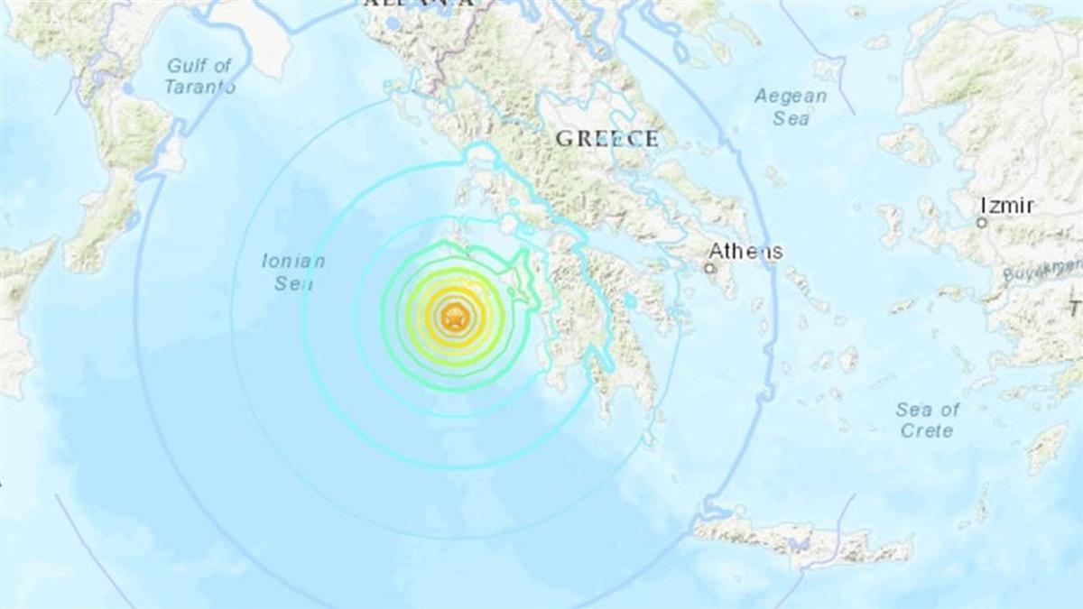 希臘外海7.0強震侵襲