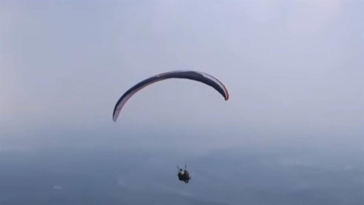 飛行傘玩家降落疑頭撞地面 墜落身亡