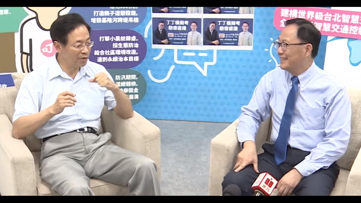 丁丁模擬考直播秀 闡述台北市未來藍圖