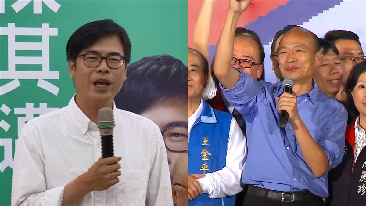 韓國瑜造勢擠爆 翁哭忍了20年!他分析:誰贏面大跟誰