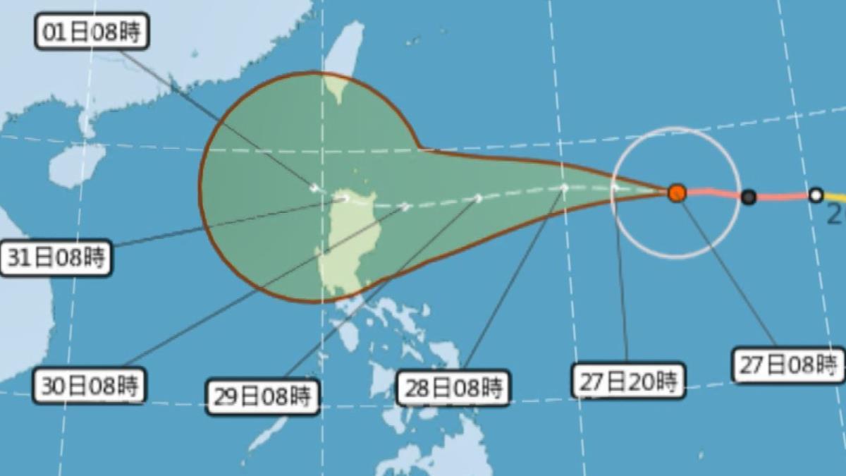 鋒面到溫度下探16度 玉兔下周三影響台灣