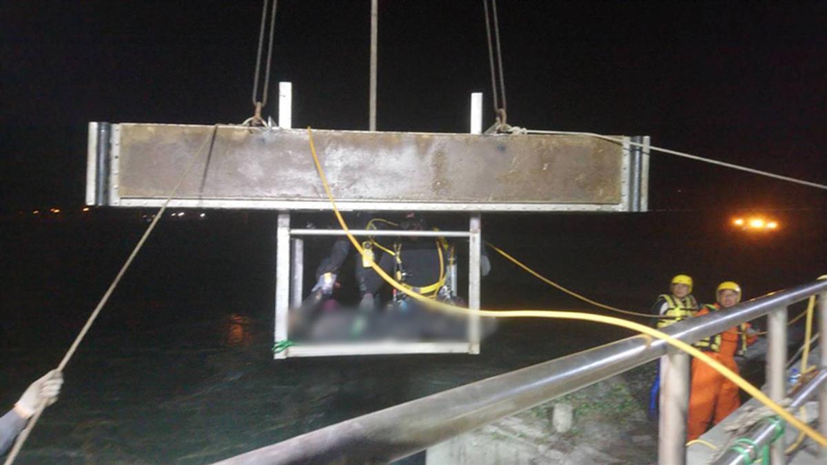 台中港工安意外  尋獲台電外包人員1遺體