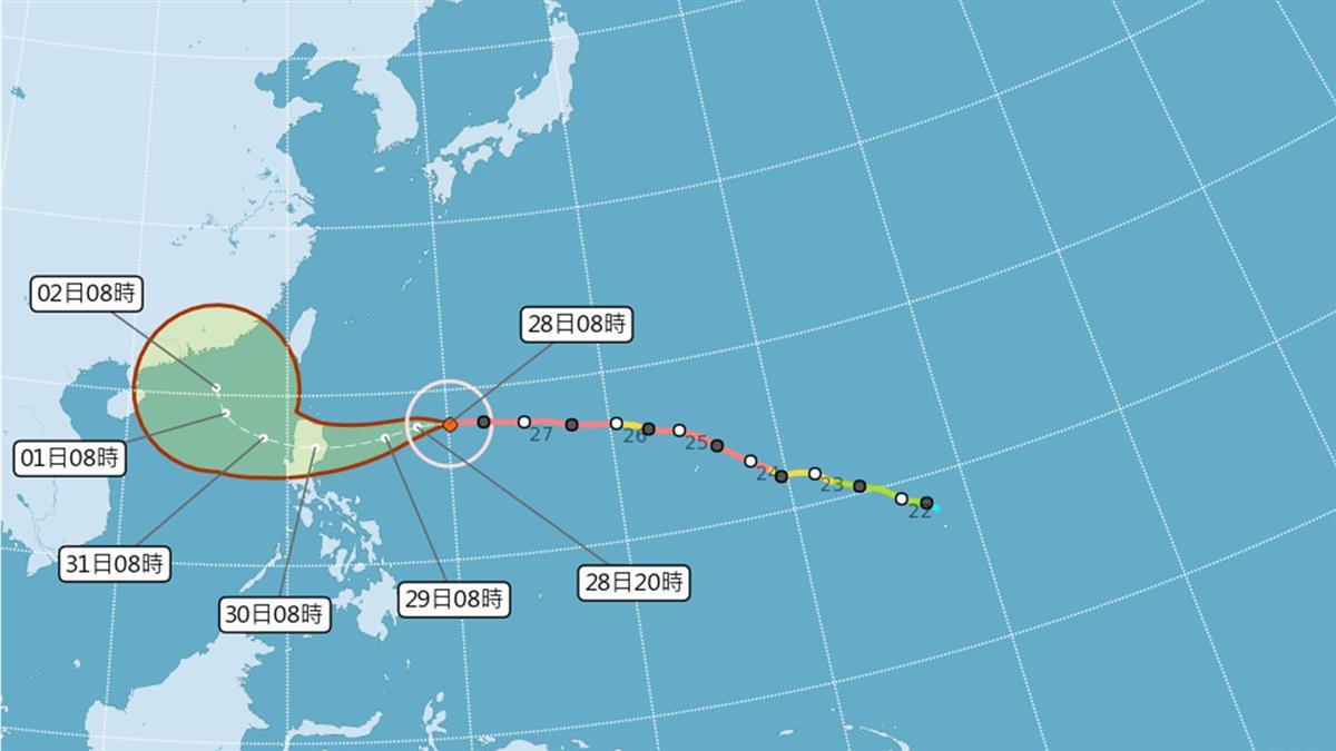 颱風玉兔外圍環流影響 綠島蘭嶼船班異動