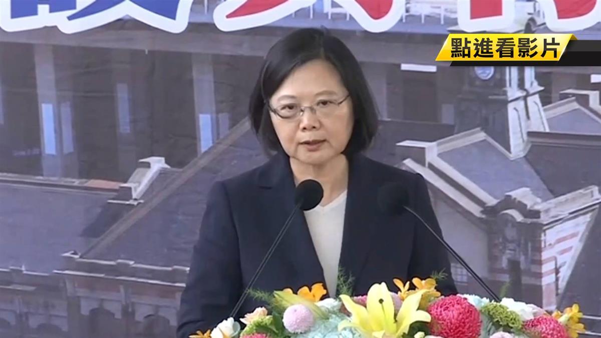 台中鐵路高架啟用 總統宣示台鐵改革無上限