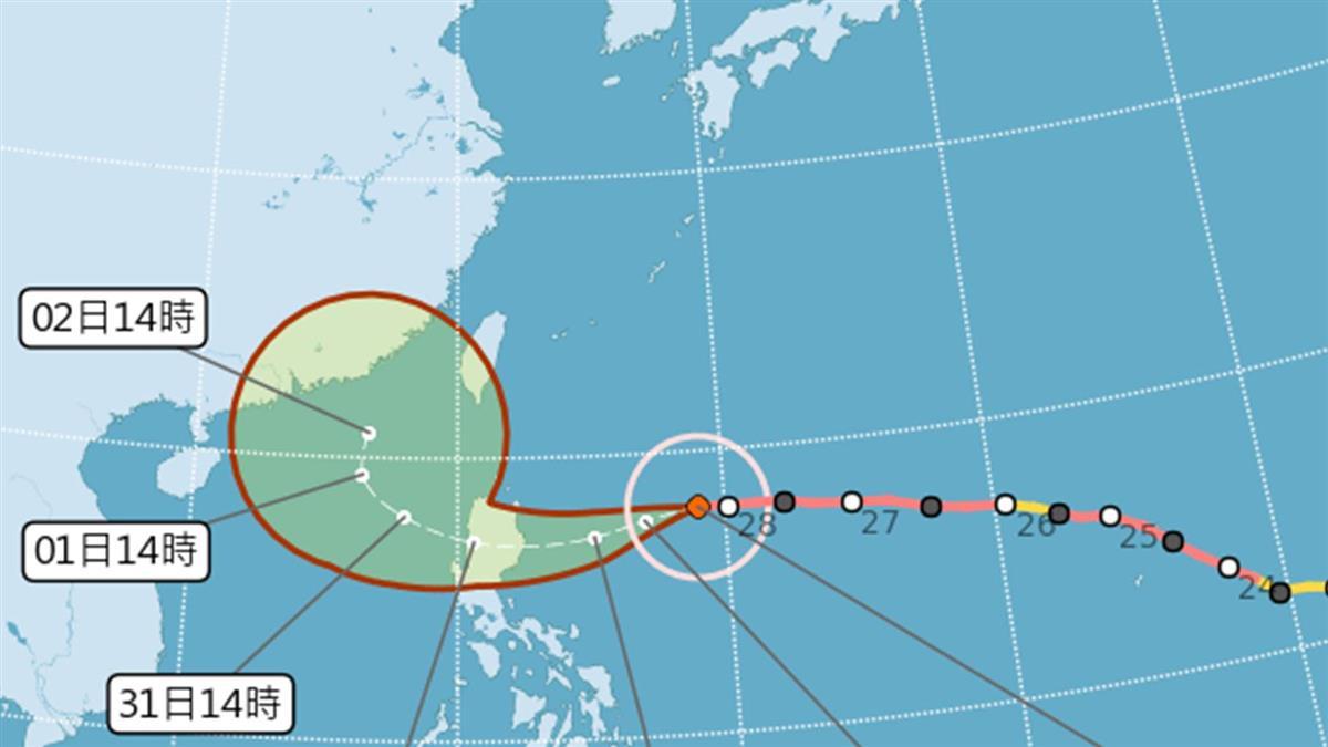 強颱玉兔恐「南海大迴轉!」是否逆襲台灣?專家給答案