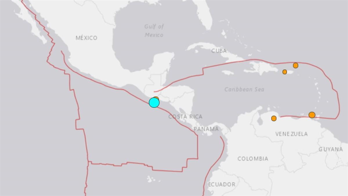 規模6.1強震襲薩爾瓦多 尚未傳災情