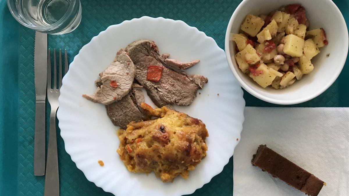 歐洲典範 法國小城學童營養午餐100%有機