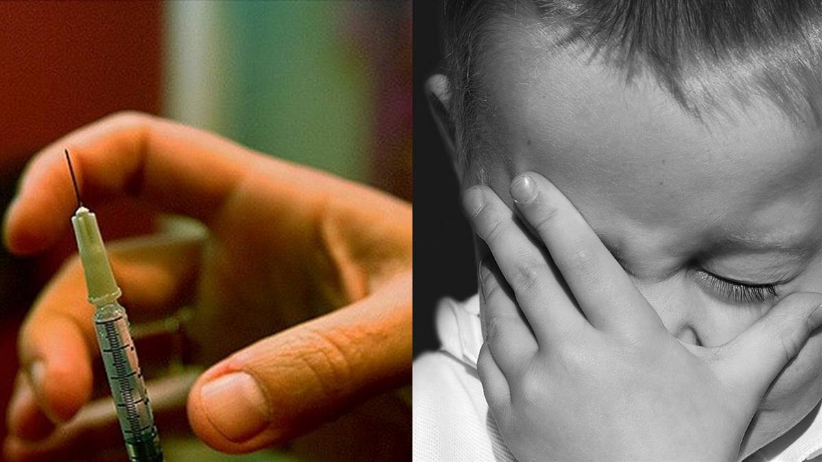 爸苦勸一上午…小孩死不打針 媽這動作「2秒收工」