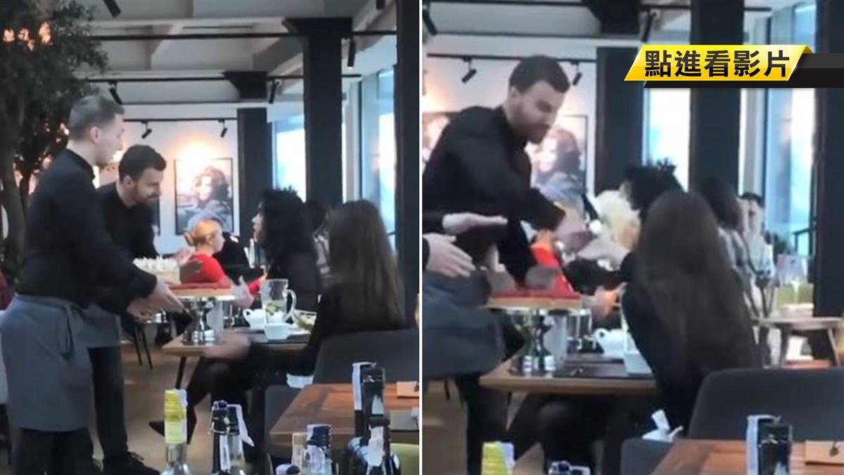 不爽不要吃!2奧客餐廳找碴 店員怒拿蛋糕砸她臉