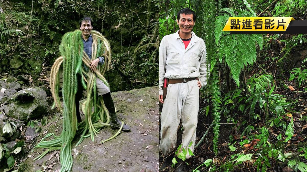 全台灣最危險工作!他一生不婚 荒野搏命工作20年