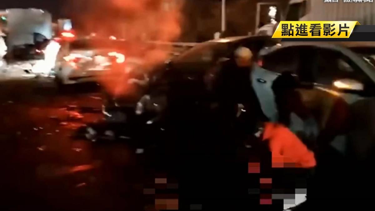 蘭州貨車下坡失控!連撞31車釀14死 公司急切割