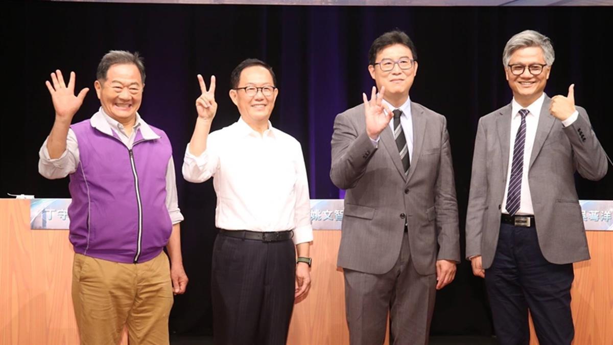 台北市長首場電視辯論登場  獨缺柯文哲