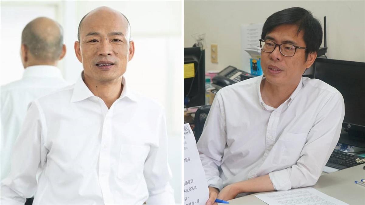 陳其邁邀辯論 韓國瑜競辦:從未迴避