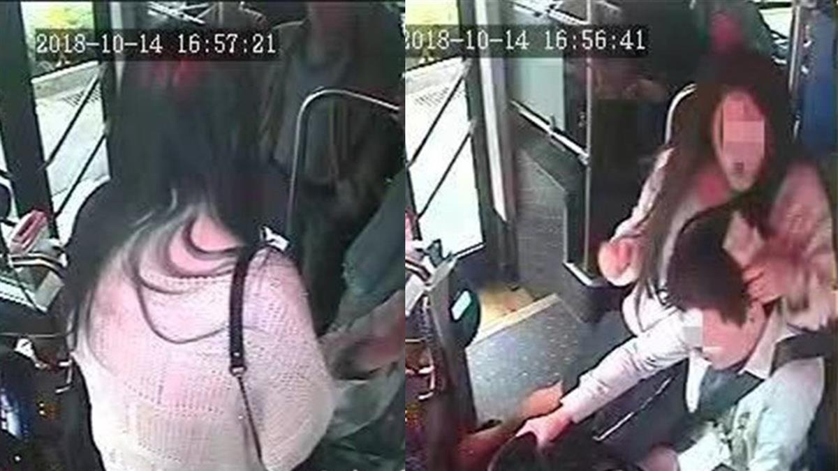 遭女坐腿上搶方向盤 司機打不還手有「委屈獎887元」