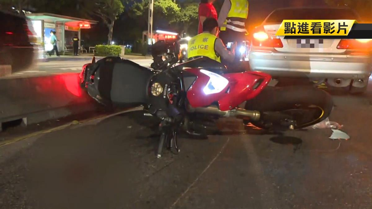 33歲重機騎士疑自摔撞車 送醫搶救傷重不治