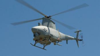 購置MQ-8B火力偵察兵 國防部:評估建案中