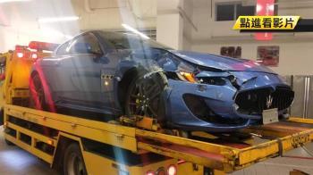 瑪莎拉蒂閃左轉車慘撞毀!Toyota不知下場還偷笑