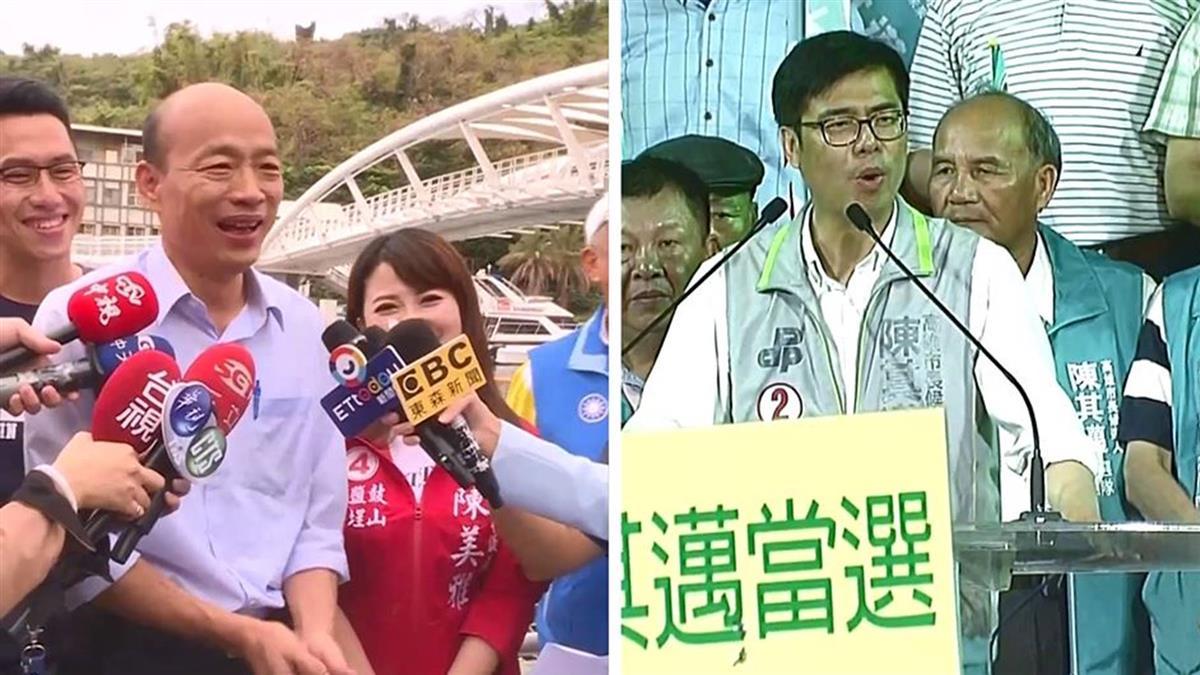 「我問你答」誰都別閃 韓國瑜、陳其邁19日公開辯論