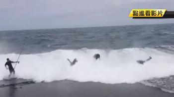 釣客捲進海底驚險獲救!見救命恩人竟問:我的魚在哪