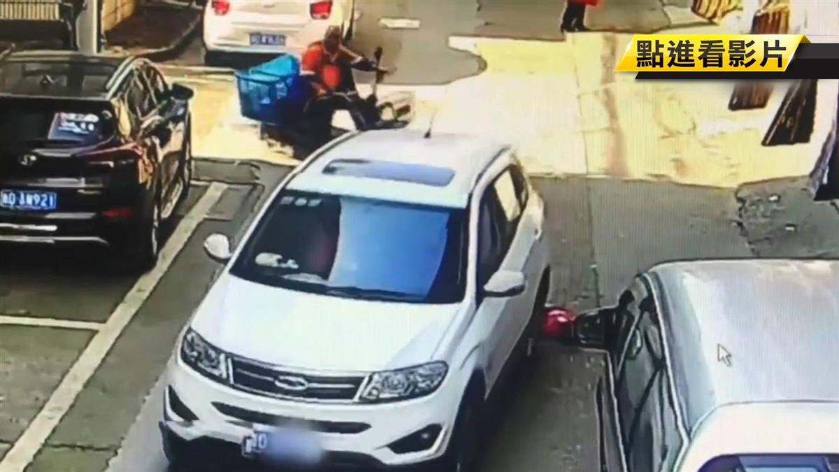 2歲娃被車輾壓2次竟「沒事」!她抬頭望向車主驚呆了