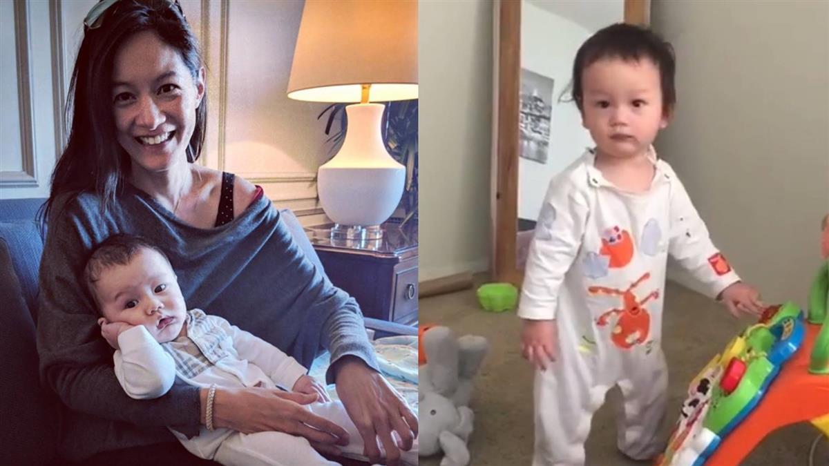 1歲兒會站了!21秒走路畫面讓Janet崩潰:不用急