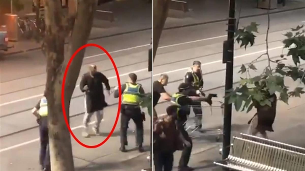 墨爾本恐攻1死2傷 IS聲稱犯案