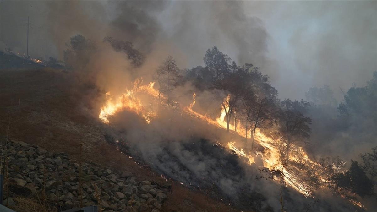 加州多起野火撤15萬人 5人開車逃難命喪火海